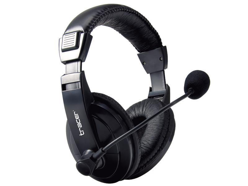 Słuchawki nauszne z mikrofonem Tracer Explode